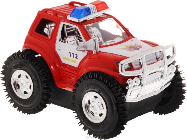 Играем вместе Машина-перевертыш Полицейский патруль цвет красный