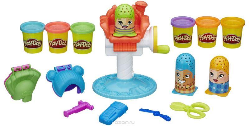 Play-Doh Набор для лепки Сумасшедшие прически