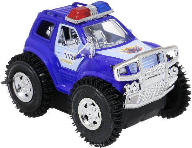 Играем вместе Машина-перевертыш Полицейский патруль цвет синий