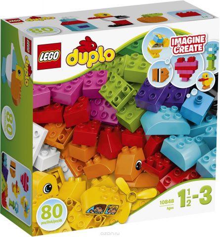 LEGO DUPLO Конструктор Мои первые кубики 10848