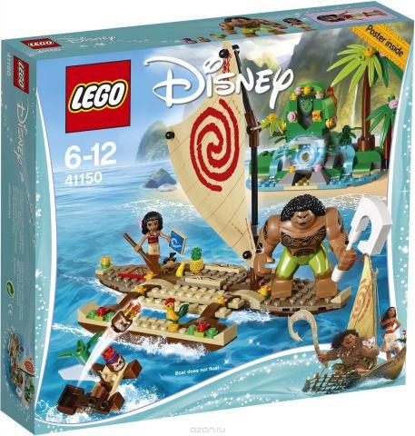 LEGO Disney Princess Конструктор Путешествие Моаны через океан 41150