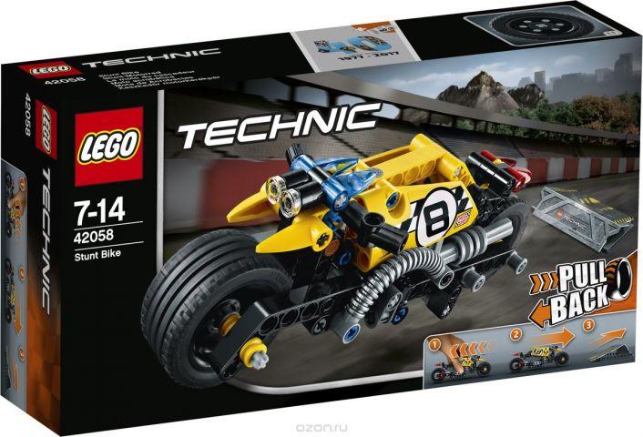 LEGO Technic Конструктор Мотоцикл для трюков 42058