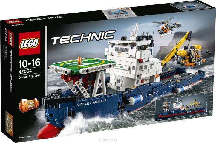 LEGO Technic Конструктор Исследователь океана 42064