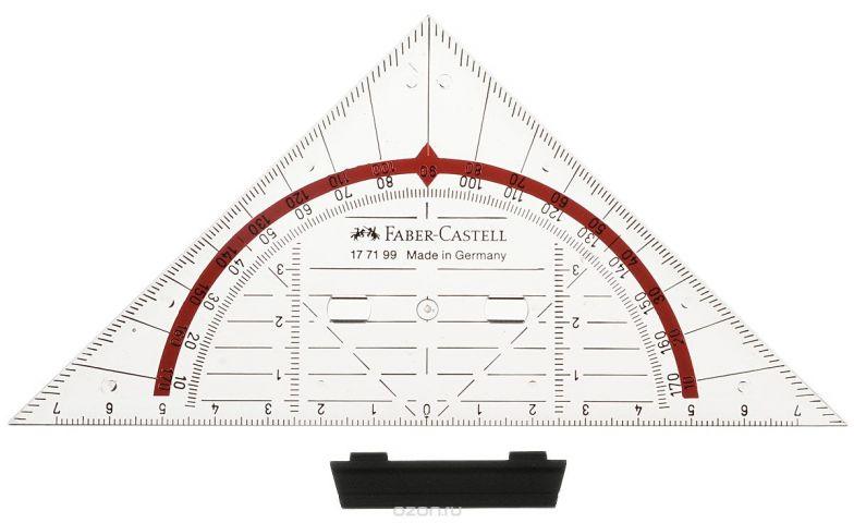 Faber-Castell Многофункциональный треугольник Комби со съемным держателем