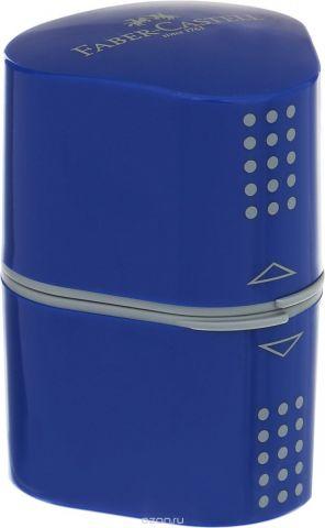 Faber-Castell Точилка Trio Grip 2001 цвет синий