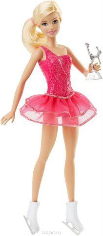 Barbie Кукла Фигуристка цвет наряда фуксия