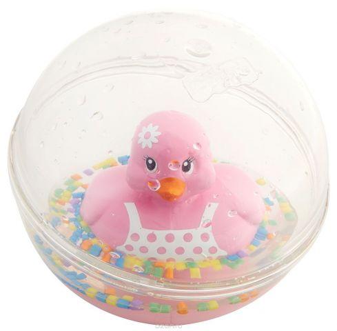 Fisher-Price Развивающая игрушка Уточка цвет розовый