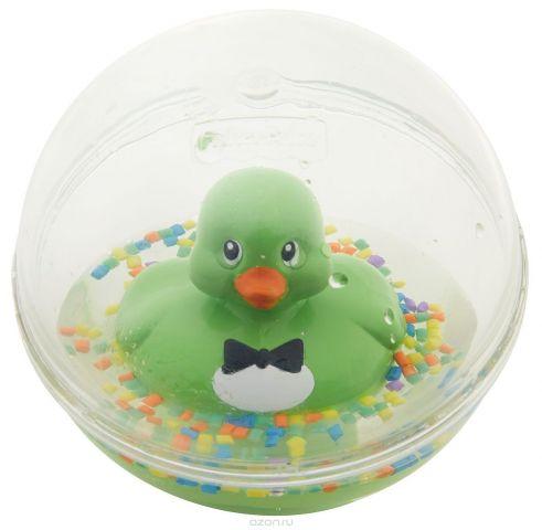 Fisher-Price Развивающая игрушка Уточка цвет зеленый