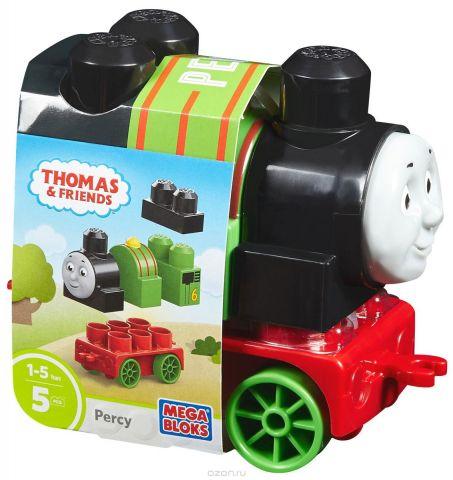 Mega Bloks Thomas & Friends Конструктор Паровозик Перси DXH49