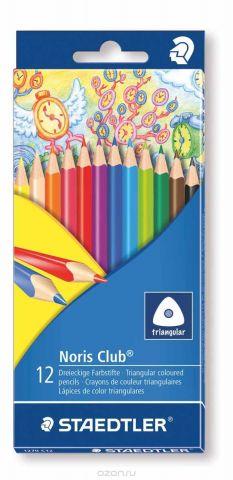 Staedtler Набор цветных карандашей Noris Club 12 цветов 1270C12