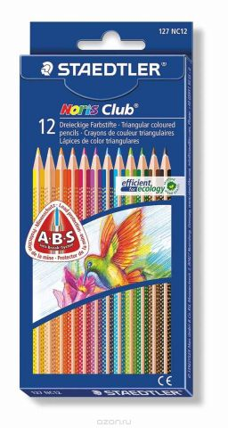 Staedtler Набор цветных карандашей Noris Club 12 цветов