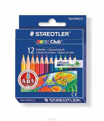 Staedtler Набор цветных карандашей Noris Club 144 12 цветов