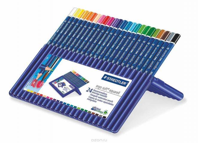 Staedtler Набор акварельных карандашей Ergosoft 24 цвета