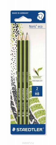 Staedtler Набор чернографитовых карандашей Noris Eco HB 3 шт
