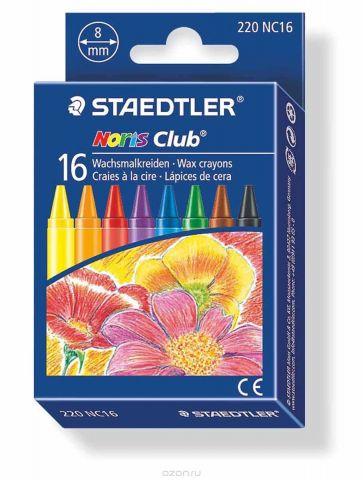Staedtler Набор восковых мелков Noris Club 16 цветов