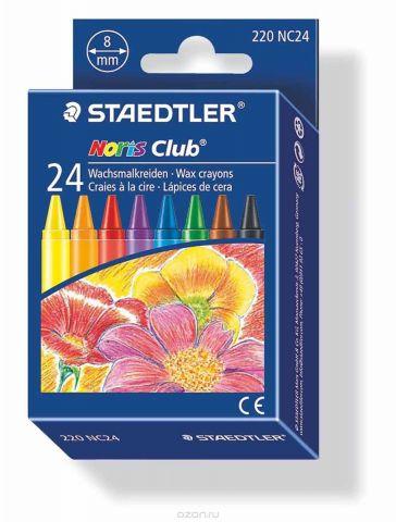 Staedtler Набор восковых мелков Noris Club 24 цвета