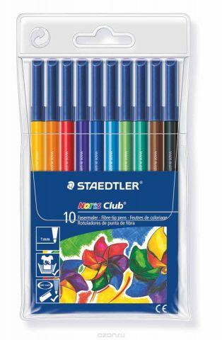 Staedtler Набор фломастеров Noris Club 10 цветов