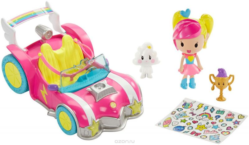 Barbie Игровой набор с мини-куклой Video Game Hero