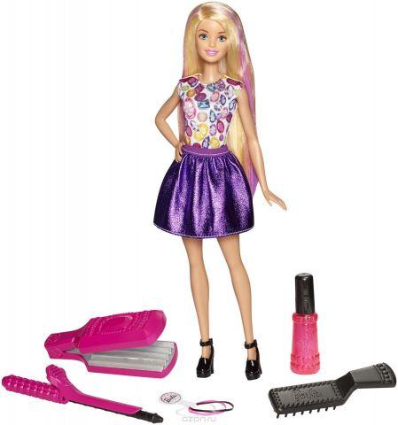 Barbie Кукла Цветные локоны