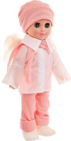 Весна Кукла Алла цвет одежды белый светло-коралловый