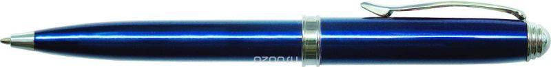 Berlingo Ручка шариковая Silk Standard цвет корпуса синий серебристый