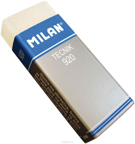 Milan Ластик Techik 920 прямоугольный