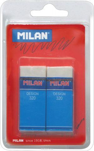 Milan Набор ластиков Design 320, 2шт