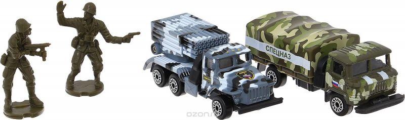 ТехноПарк Набор машинок Военная техника Омон и Спецназ