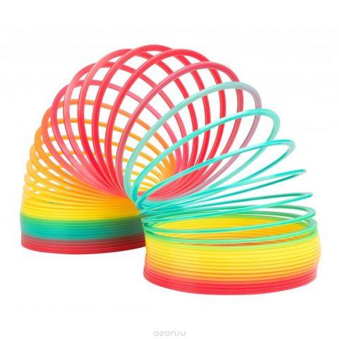 Slinky Антистрессовая игрушка Пружинка Радуга Гигант