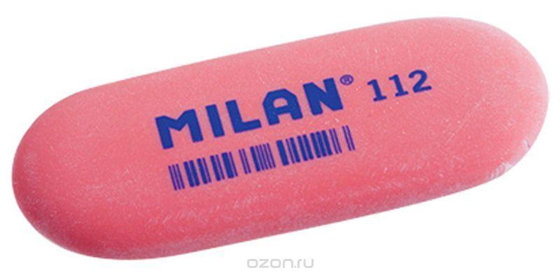 Milan Ластик 112 цвет красный