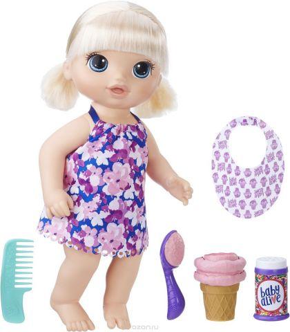 Baby Alive Кукла Малышка с мороженым