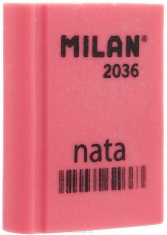 Milan Ластик Nata 2036 прямоугольный цвет коралловый