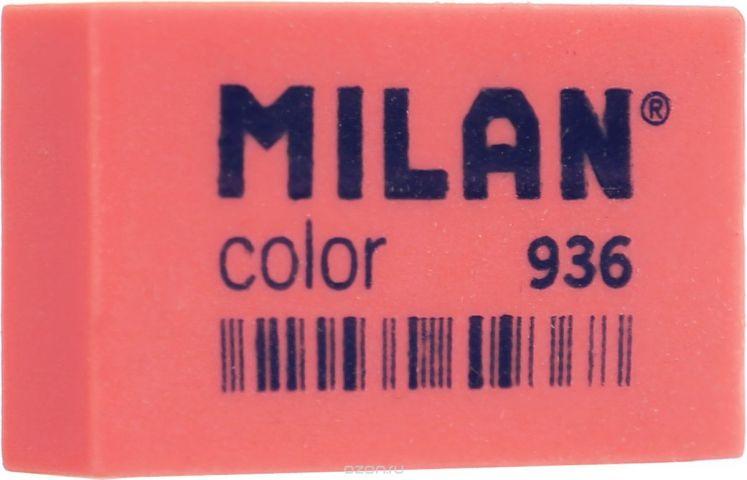 Milan Ластик Color 936 прямоугольный цвет коралловый