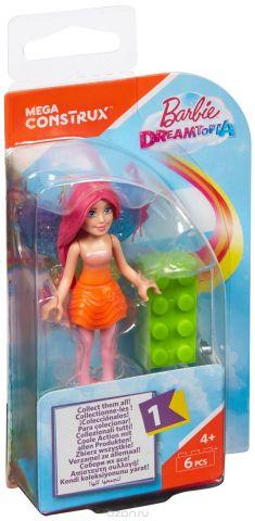 Mega Bloks Barbie Конструктор Rainbow Splash Fairy