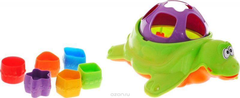 Нордпласт Сортер Черепаха цвет зеленый фиолетовый