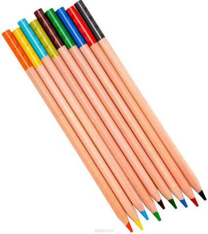LEGO Набор цветных карандашей с насадками 9 шт 51515