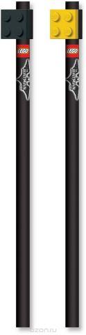 LEGO Набор карандашей с насадками Batman Movie 2 шт