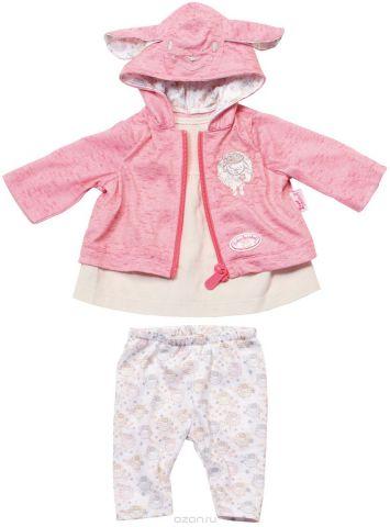Baby Annabell Одежда для кукол цвет молочный розовый