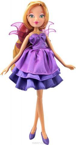 Winx Club Кукла Волшебное платье Flora