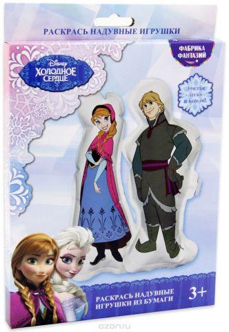 Disney Набор для раскрашивания надувной игрушки Анна и Кристофф