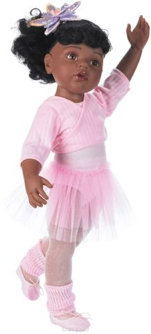 Gotz Кукла Ханна балерина афроамериканка