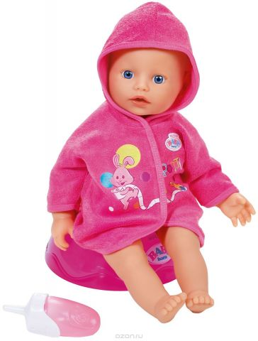 Baby Born Игровой набор с куклой Potty Training