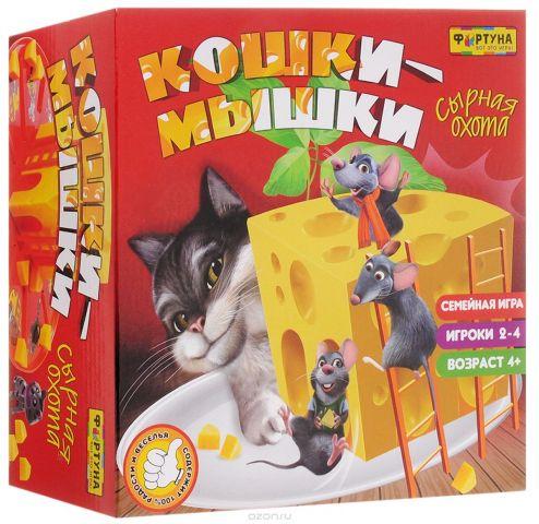 """Настольная игра """"Кошки-мышки. Сырная погоня"""""""