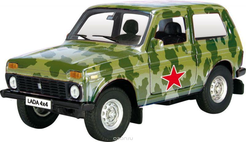 Autotime Модель автомобиля Lada 4x4 Армейская