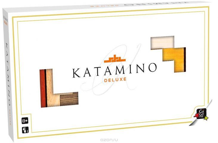 Gigamic Настольная игра Катамино Делюкс цвет коробки белый