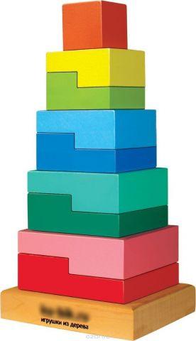 Sima-land Пирамидка Ступеньки 10 деталей 636532