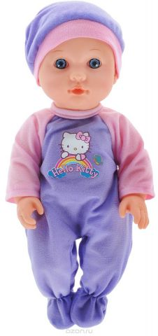 Карапуз Пупс Hello Kitty цвет одежды сиреневый розовый