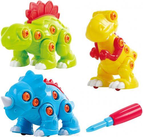 Playgo Конструктор Собери динозавра 3 в 1