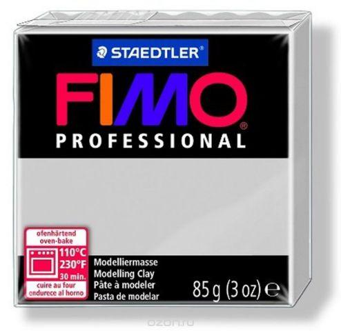 """Глина полимерная Fimo """"Professional"""", запекаемая, цвет: серый дельфин, 85 г"""