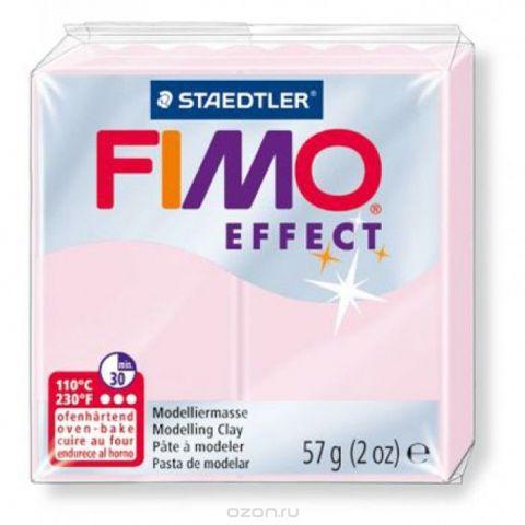 """Глина полимерная Fimo """"Effect"""", запекаемая, цвет: розовый кварц, 57 г"""